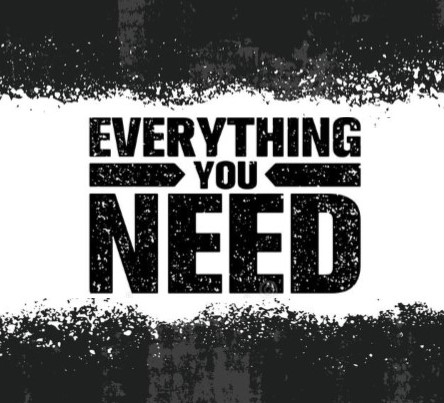 Everything you need - Series Logo