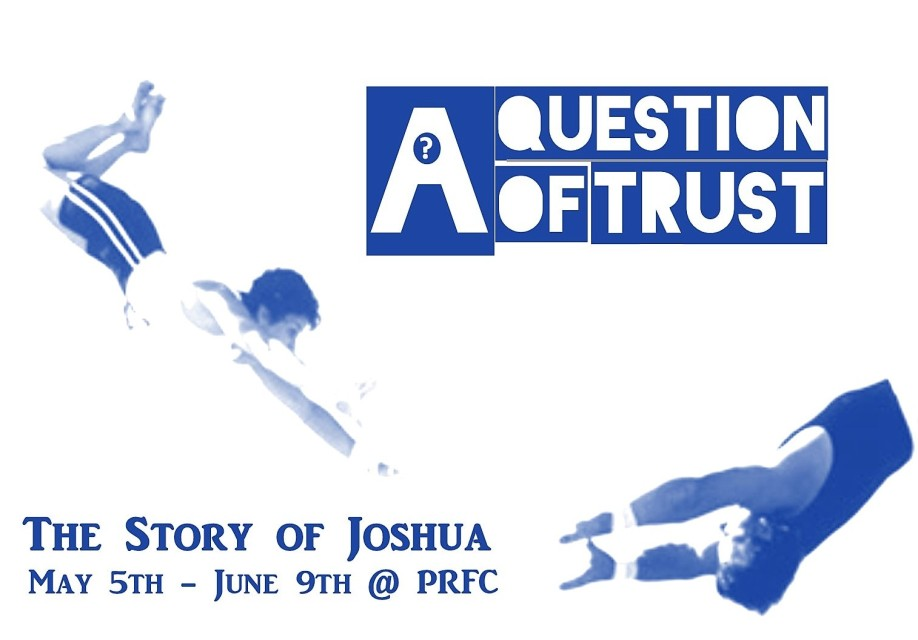 A Question of Trust Series Logo - Blue